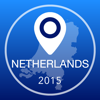 Netherlands Offline Map + City Guide Navigator, Attractions and Transports