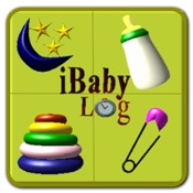 iBabyLog : Baby Breastfeeding Timer, Nursing Tracker and Sleep, Diaper, Activities Log Mobile App Icon