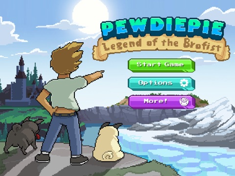 PewDiePie: Legend of the Brofist на iPad