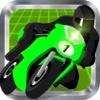 Neon Highway Motorcycle
