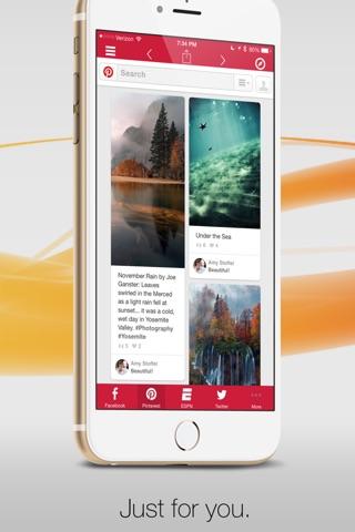 Facely HD for Facebook + Social Apps Browser screenshot 4