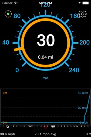 Speedometer Speed Box screenshot 1