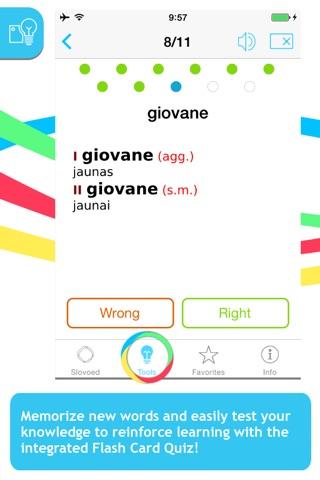 Italian <-> Lithuanian Slovoed Compact talking dictionary screenshot 4
