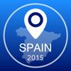Espanha Offline Mapa + Guia da Cidade Navigator, Atrações e Transportes