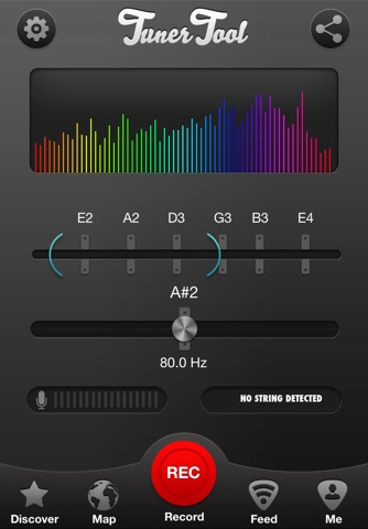 Tuner Tool, Guitar Tuning Made Easy screenshot 1