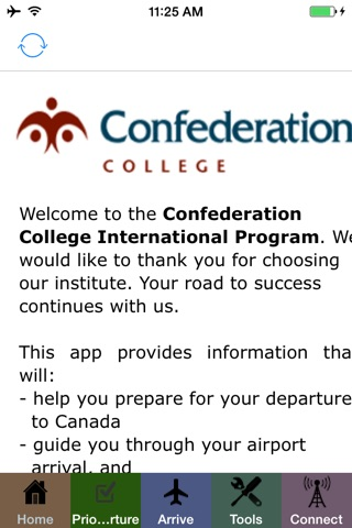 Confederation College Arrival screenshot 4