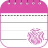Touch Secure Notepad - Pink Edition