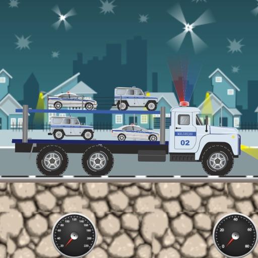 Police Car Transporter iOS App