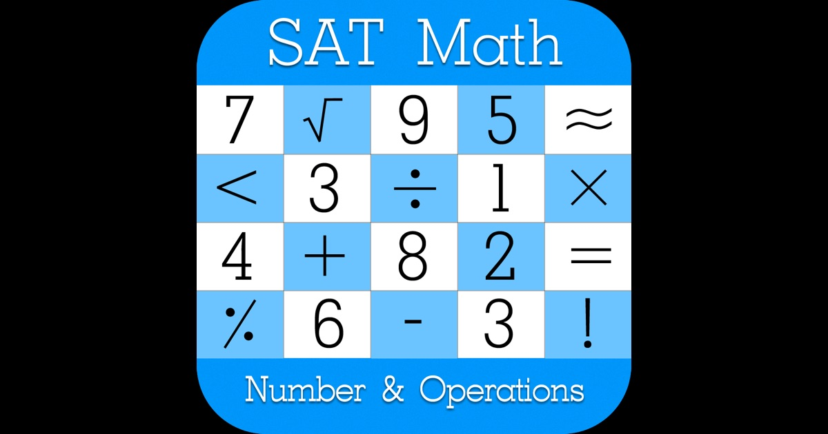 math numbers and operations