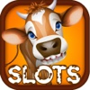 Aaaah! Vache qui rit Farm Slot-s Casino Jackpot Fun-joie Machine Pro