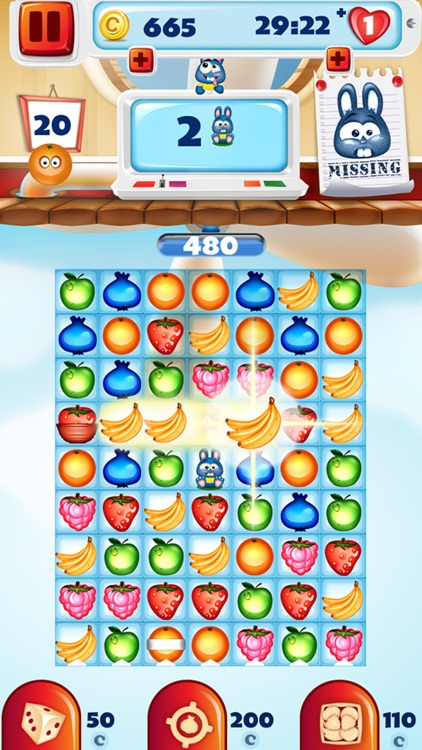 Crazy Fruit Match 3 Game - Infinite Puzzle Adventure and Crush ...