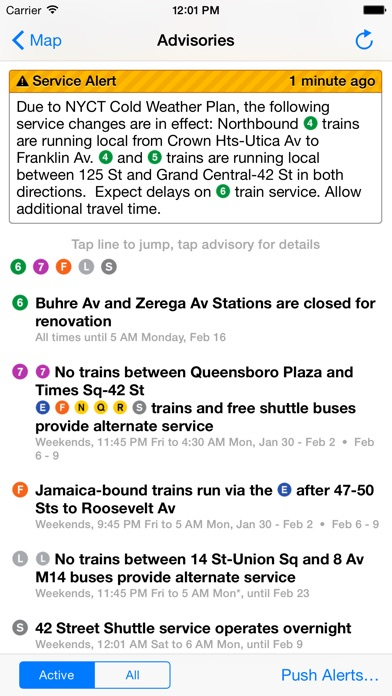 Itrans Nyc Subway review screenshots
