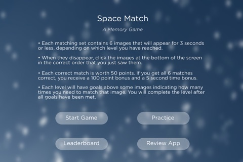 Space Match - Free Memory Game screenshot 3