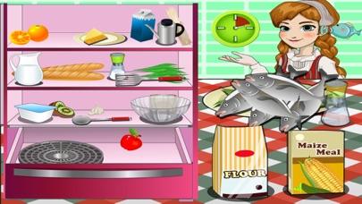 Screenshot of Finlandia pesce - Giochi di cucina1