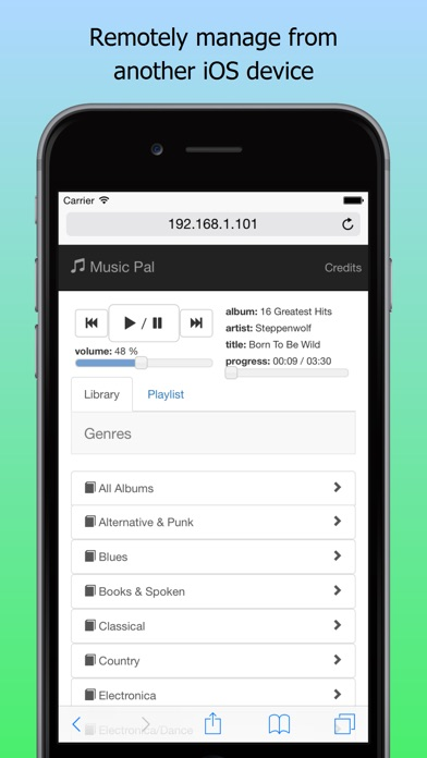 Music Pal App screenshot three