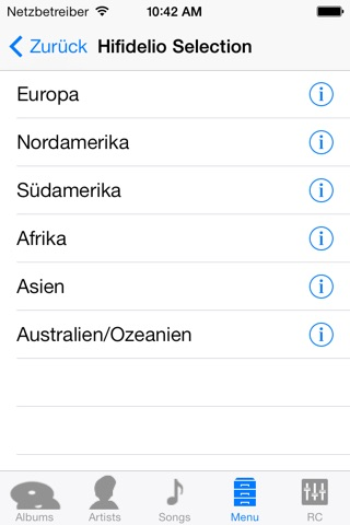 Hifidelio App screenshot 4