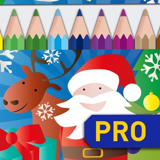 Draw and Colour: Xmas PRO iOS App