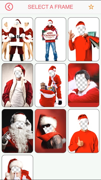 merry christmas face photo booth free camera fx turn yourself into santa claus xmas elf by rabeya daigy