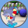 Dolphin bowling for kids - without advertising