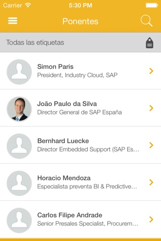 SAP Forum España 2015 screenshot 3