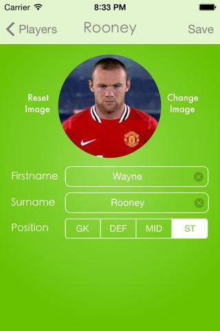 Lineup - Football Squad screenshot 4