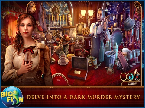 Cadenza: Music, Betrayal, and Death HD - A Hidden Object Detective Adventure screenshot 2
