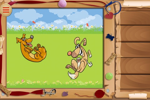Baby Puzzles : Funny Dogs screenshot 2