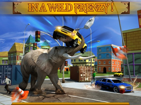 Screenshot #5 pour Angry Elephant Attack 3D