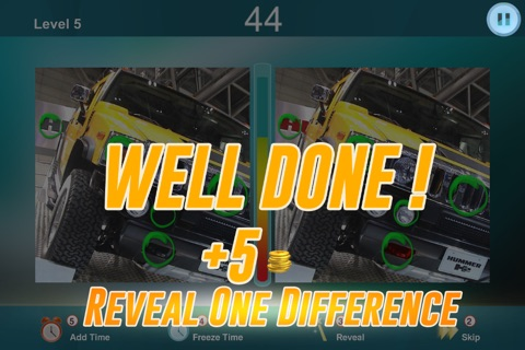 Spot the Differences in two Car Pictures - Photo Puzzle Game - What's the difference? screenshot 4
