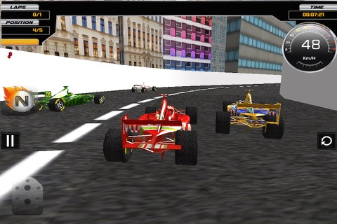 Super Formula Racing 3D screenshot 1