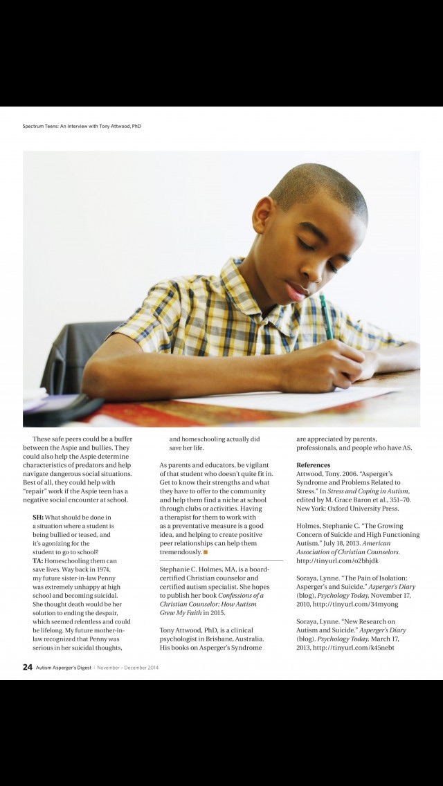 Autism Aspergers Digest review screenshots