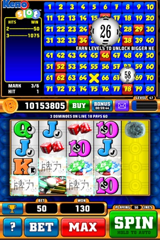 Keno Slot Pro screenshot 1