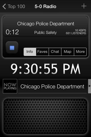 5-0 Radio Police Scanner screenshot 1