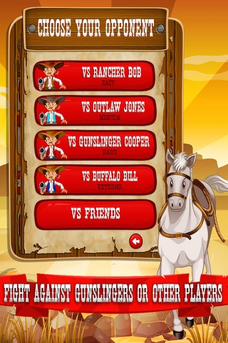 Cowboy Quickdraw - Wild West Shootout! screenshot 4