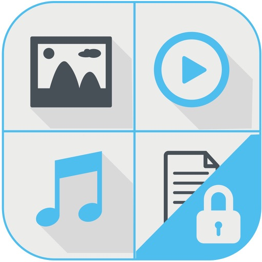Secret Photo Vault FREE - Flo Box Private Photo + Video Folder and Manager iOS App