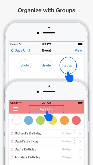 Days Until screenshot three