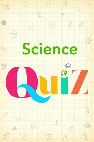 A Science Quiz screenshot 1