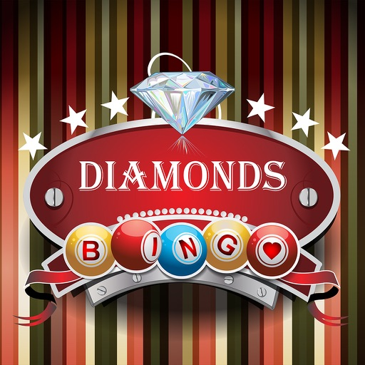 Diamonds Bingo Boom - Free to Play Diamonds Bingo Battle and Win Big Diamonds Bingo Blitz Bonus! iOS App