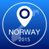 Norway Offline Map + City Guide Navigator, Attractions and Transports