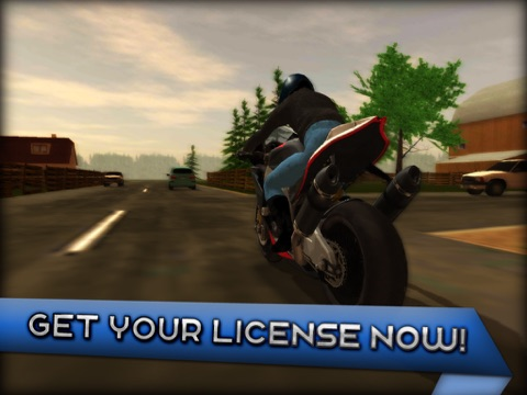 Игра Motorcycle Driving 3D