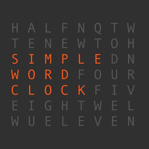 Simple Word Clock