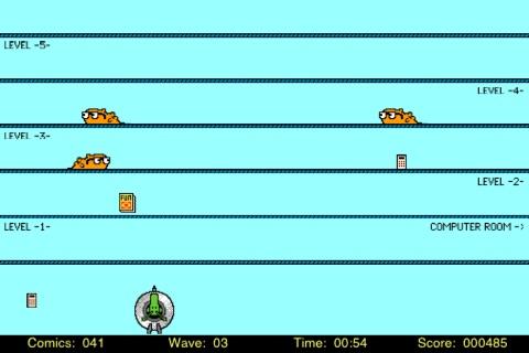 Alien Arcade Lite screenshot 3