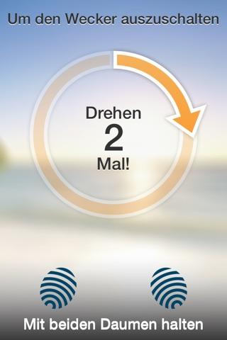 SpinMe Alarm Clock - Guaranteed Wake Up for Deep Sleepers screenshot 2