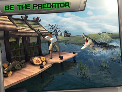 Screenshot #6 pour Swamp Crocodile Simulator 3D