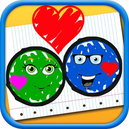 Doodle Ball Puzzle - Jump to Bump the Loving Balls and Avoid Them from Breaking iOS App