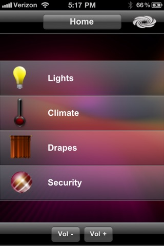 Crestron Mobile screenshot 1