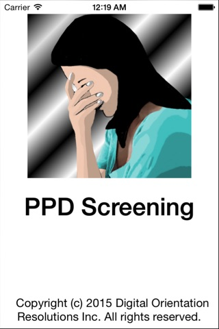 PPD Screening screenshot 1