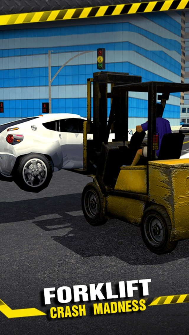 Screenshot #1 pour Forklift Crash Madness 3D