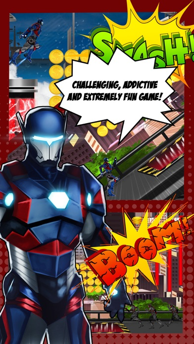 Superhero Iron Steel Justice – The Alliance League of 3 FX Man 2 Free-0