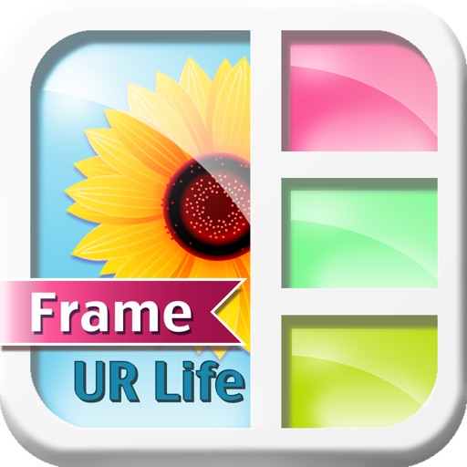 FrameUrLife - Picture Frames + Photo collage iOS App
